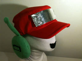 QUOTE from Cave Story Hat by tacksidermia