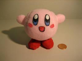 KIRBY Mini Plush by tacksidermia