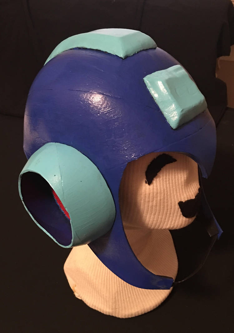Mega Man 2 Helmet by tacksidermia