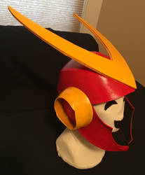 Mega Man 2 Quick Man Helmet by tacksidermia