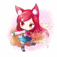 Academy Ahri by MizoreAme