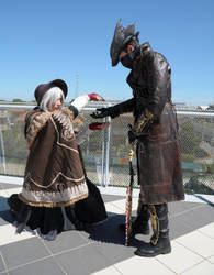 The Hunter and The Doll Cosplay by Maspez