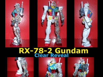 Gundam Clear Reveal by CharAznable79