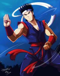 Akira Yuki - Virtua Fighter by DANMAKUMAN
