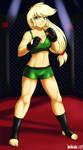 Commission: AJ fighter by DANMAKUMAN