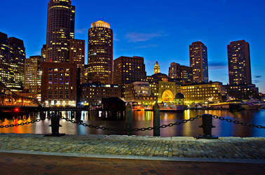 Boston Skyline by Andrew-23