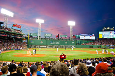 Fenway Park Sunset by Andrew-23
