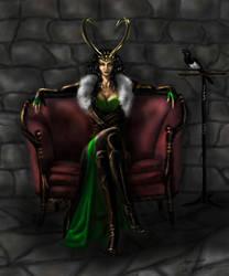 Lady Loki by VeronikaDark