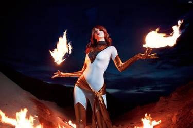 Fire Queen by KsanaStankevich