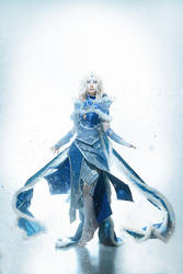 Rylai the Crystal Maiden Cosplay by KsanaStankevich
