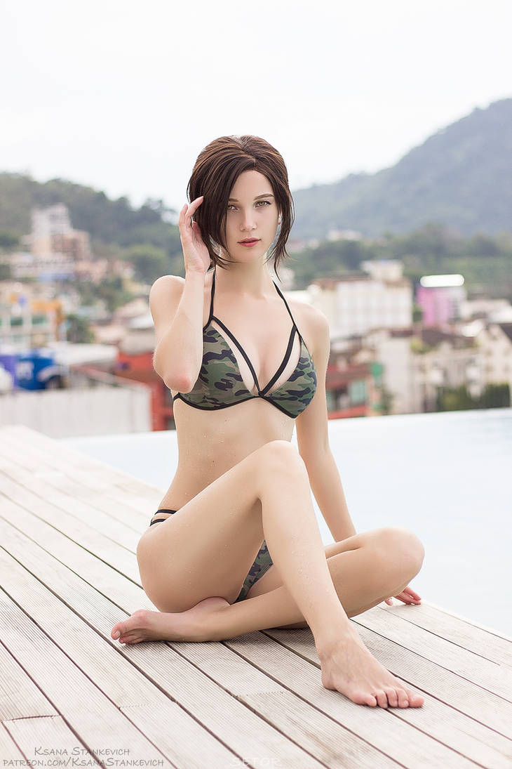 Tomb Raider   Lara Croft   Swimsuit version by KsanaStankevich