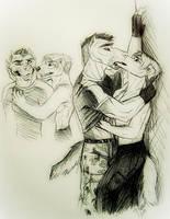 Cale and Korso by naravox
