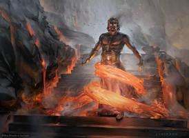 Prophetic Flamespeaker by sheppardarts