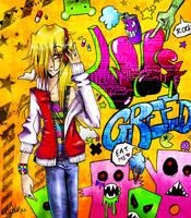 Street Art and Leo by Atomik-Goku