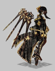 Black Swordmaster by Atomik-Goku