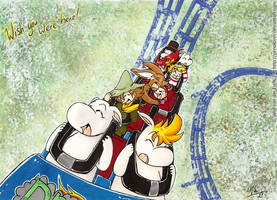 Moomin Roller Coaster by Genolover