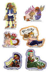 Batch of Badges by Genolover