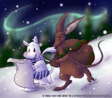 Secret Santa - Moomin Christmas by Genolover
