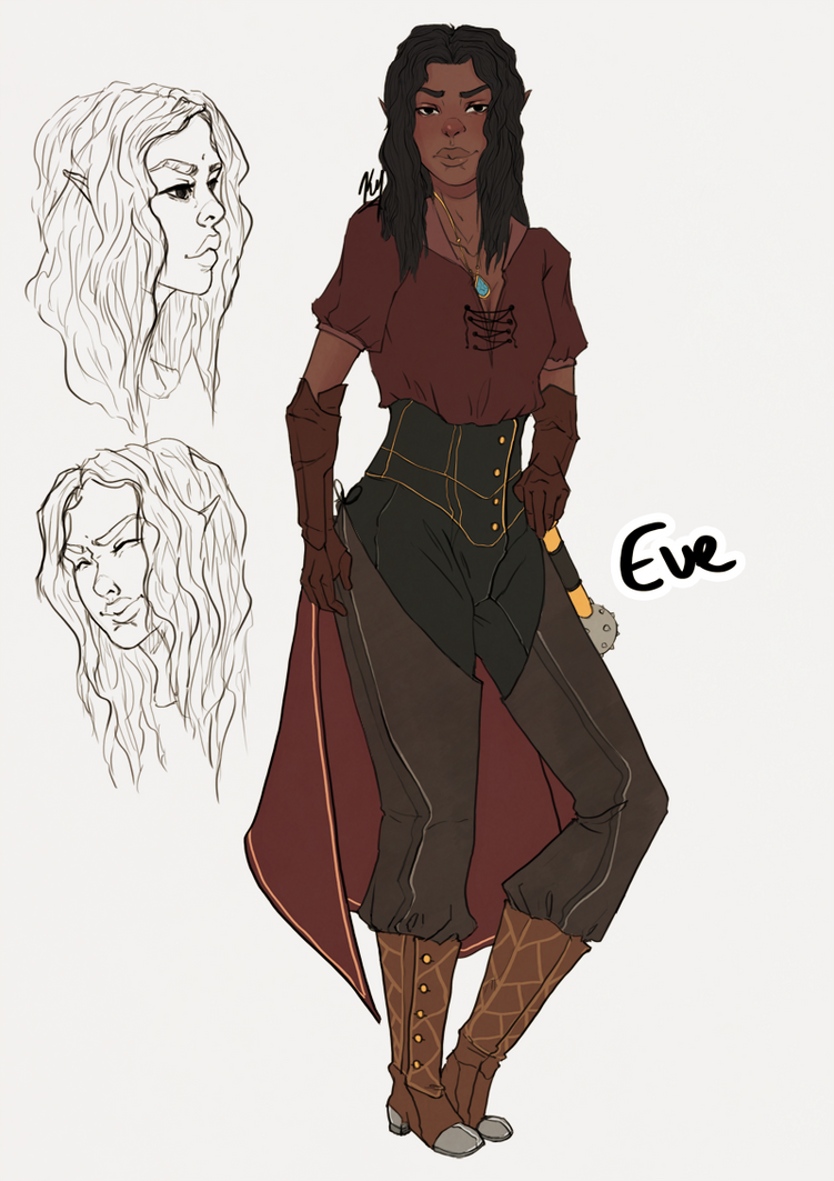 Eve - Character ref by ketyosef