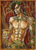 God of Wine by BohemianWeasel