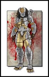 Predator Hunter Color ART by rraphall04