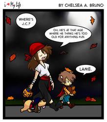 ILML #17 Halloween '13 by LilBruno