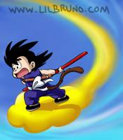Kid Goku Doodle by LilBruno