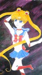 Sailor Moon - Moon Star [ in colour ] by Kurohimex105