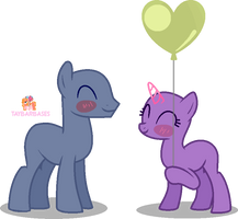 Here's to our love..A balloon ~Base~ by taybarbases
