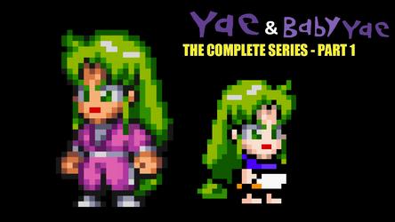 Yae and Baby Yae by Ruensor