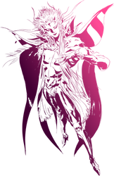 Final Fantasy II logo by eldi13