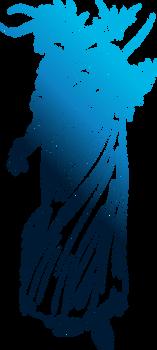 Final Fantasy I logo by eldi13