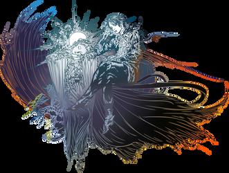 Final Fantasy XV logo - POST-CREDITS by eldi13