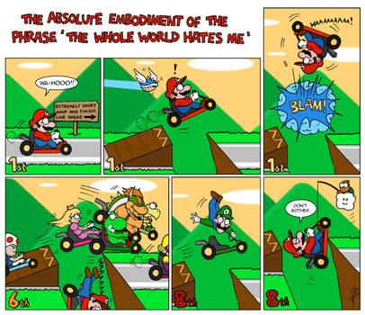Mario Kart-toon by PalfreyMan
