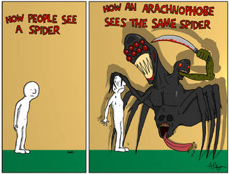 Spider!! by PalfreyMan