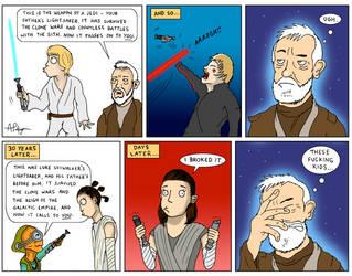 Jedi Kids by PalfreyMan