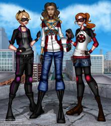 COLLAB: Super Besties by callisto-chan
