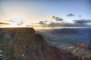 Grand Canyon Sunset by jasgreg