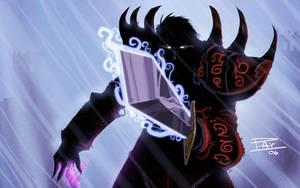 Undead warlock by spyders