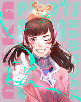 Hammond + Dva MEKA PILOTS WOOT by sleepcross