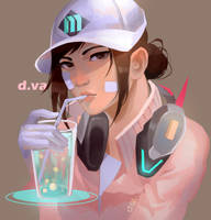 Shooting Star DVA by sleepcross