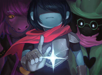 DELTARUNE by sleepcross