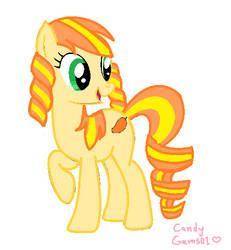 My Little Pony: Mango Twirl by CandyGems01