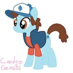 Dipper ponified by CandyGems01