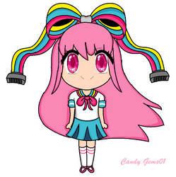 Chibi Giffany by CandyGems01