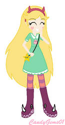 Star Butterfly - Equestria Girls Style by CandyGems01