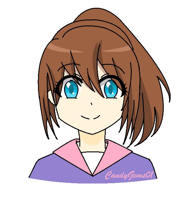 My Oc - Siri Hajime by CandyGems01