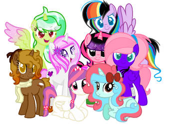  COLLAB  Aufa's Friends by CandyGems01