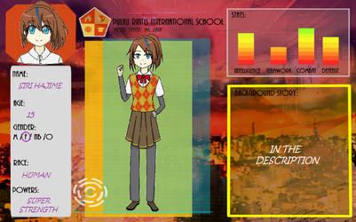 Siri Hajime [PRIS Application Form] by CandyGems01