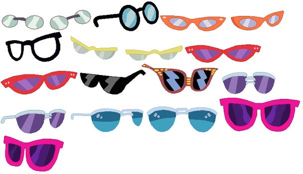Glasses Set by SelenaEde